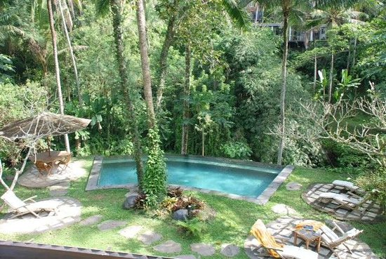 Villa Beji Indah: View from Villa Nakula