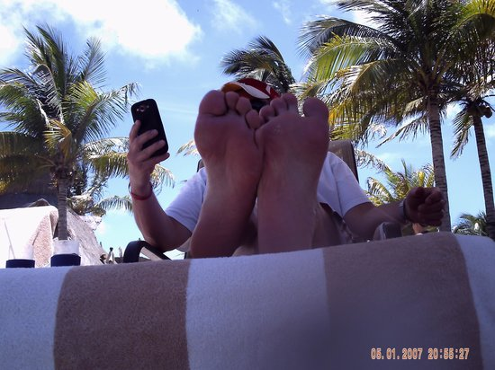 Villa del Palmar Cancun Beach Resort & Spa : WiFi never worked. Used our cell service