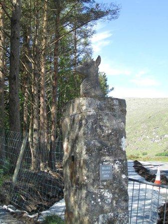 Κάστρο Glenveagh: The Gate