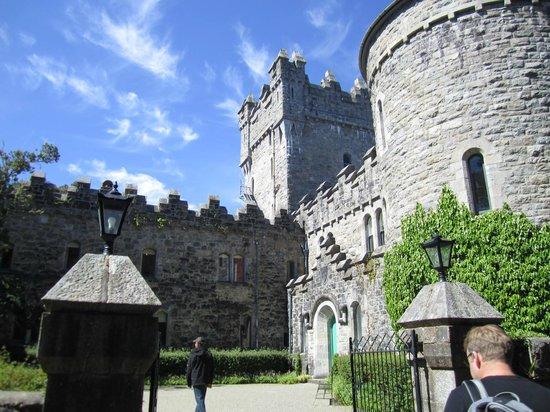 Κάστρο Glenveagh: The Front