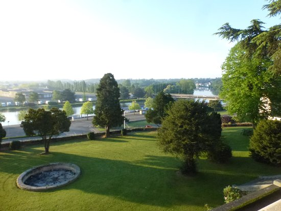 Le Jardin des Arts : view from the room