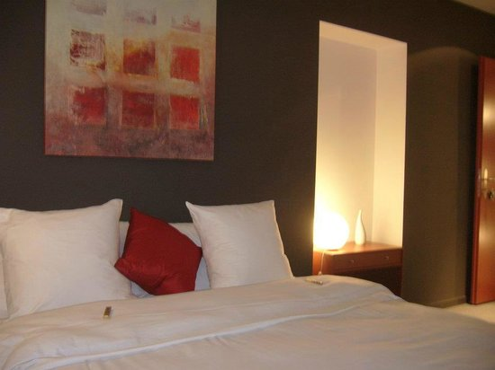 Hotel Glanis : chambre Rouge