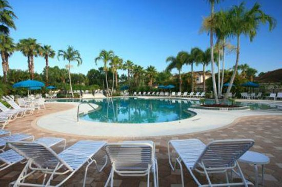 Perfect Drive Vacation Rentals: Lagoon style heated pool.