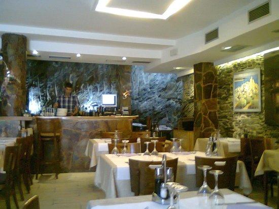 La Lluna: Vista geral do restaurante