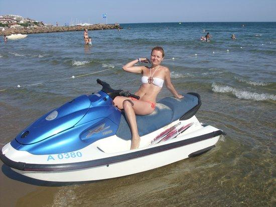 PrimaSol Sineva Park: Пляж