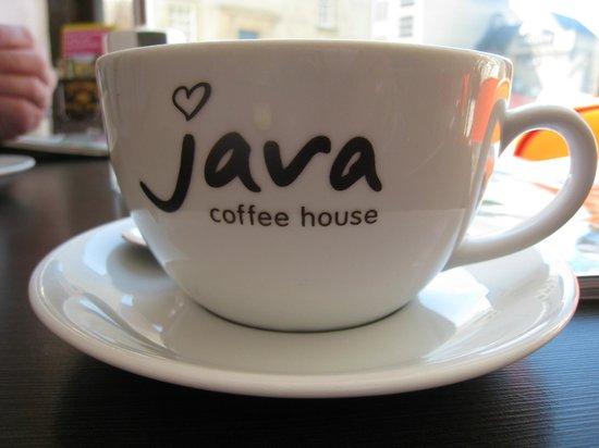 Java Coffee House: Nice big cup