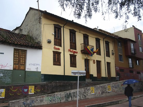Casa Platypus in La Candelaria, Bogota, Colombia.