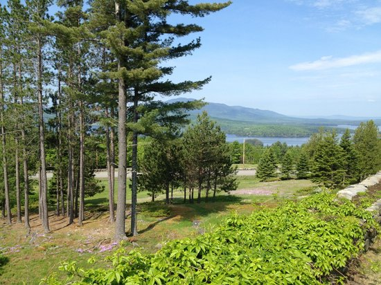 Blair Hill Inn: View of Moosehead Lake - Verenda