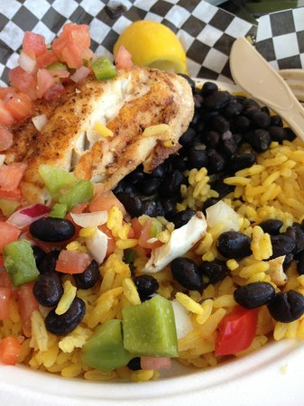 Loose Caboose Restaurant: Grouper
