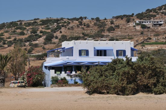 Psili Ammos Studios: Studio Psili Ammos, seen from the beach