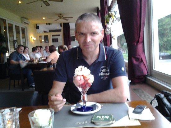 Hostellerie Brakke Berg : een klein ijsje