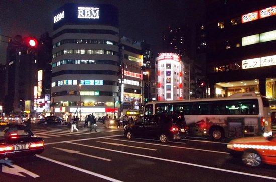 Shiba Park Hotel : Near Daimon subway station