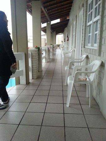 Hotel Geranius: Vista Hotel