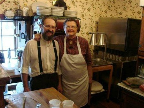 Trail Days Cafe & Museum: the owner a local historian & his wife