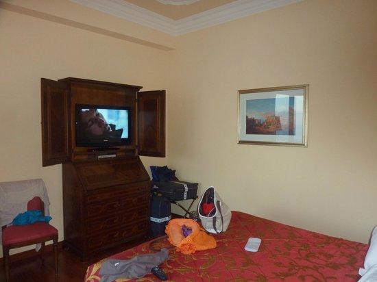 Hotel Villa Diodoro : Face au lit