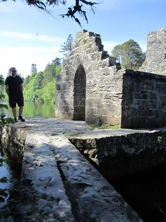 Royal Abbey of Cong: Monks Fishing Hut...Man Has To Know What Is Important!