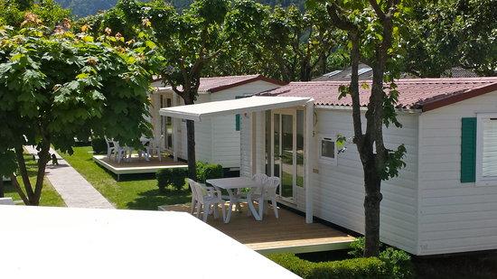 Camping Punta Lago: case mobili modello venezia