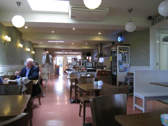 Walsh's Bakery and Coffee Shop : The Cafe Seating