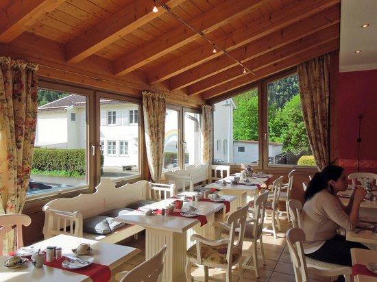 Landhotel Guglhupf: 朝食コーナー
