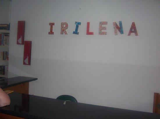 Irilena Apartments : reception