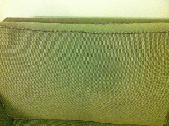 Extended Stay America - Dallas - Market Center: Stained Sofa II