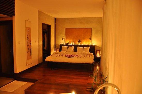 Heritage Suites Hotel: déco honey moon