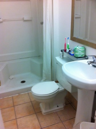 Parkway Inn: Bathroom