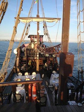 Venetian Galleon : the main deck