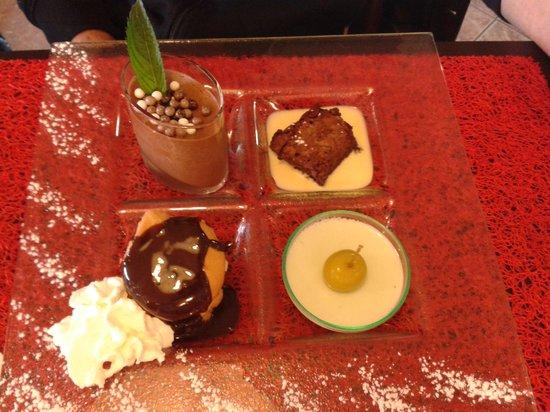 La Gargote : Dessert Quatuor
