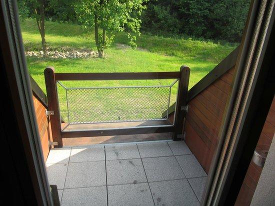Na Doline: Anděla whirpool room - balcony