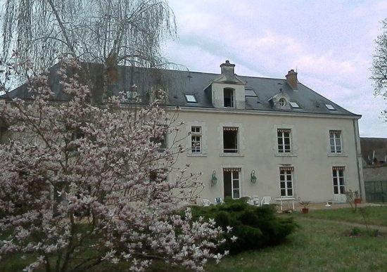 Manoir de Saint-Dye sur Loire: Le Manoir côté jardin