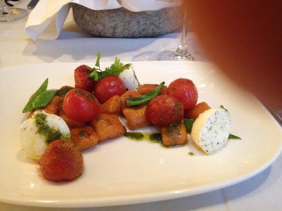 Restaurant Sitzwohl: Een heerlijk voorgerecht
