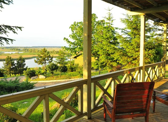 Delta Nature Resort: view from our cottage