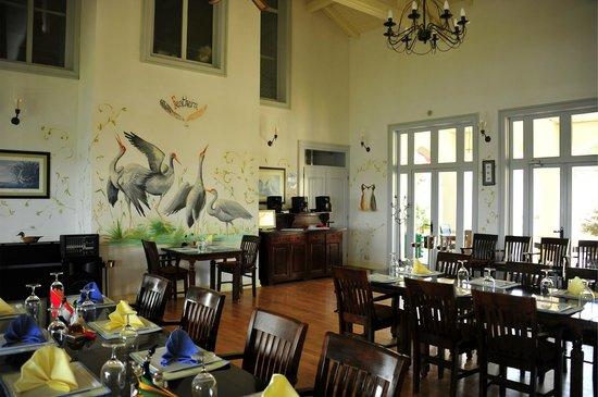 Delta Nature Resort: main dining room