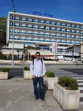 Hotel Petka: Hotel facade