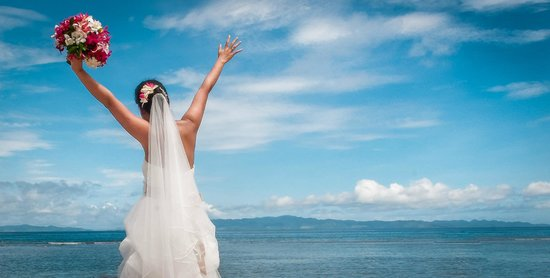 Taveuni Island Resort & Spa: I shot a wedding here...stunning views!