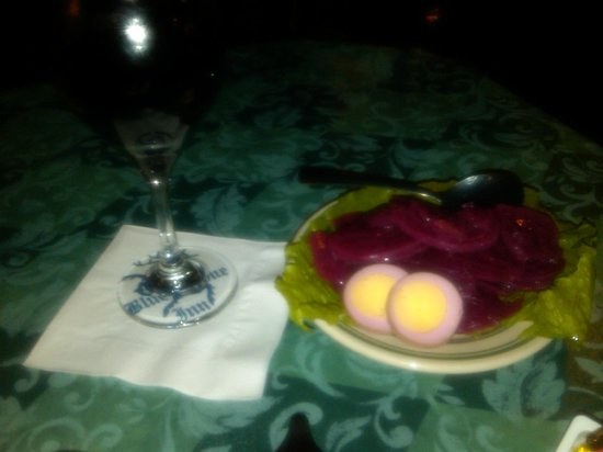 Blue Stone Inn : Fresh Beet Salad
