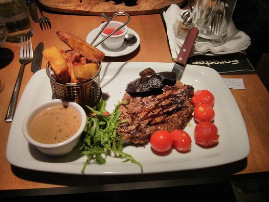 The Foresters Pub and Restuarant: T-Bone Steak (£18.95)