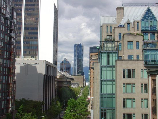 Holiday Inn Hotel & Suites Vancouver Downtown: View from 7th floor