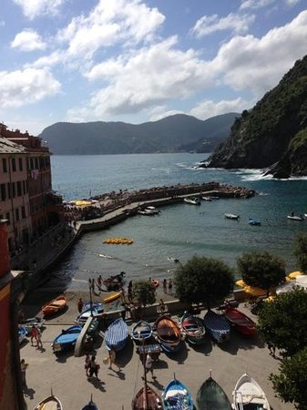 Albergo Barbara: The beautiful view from room 9