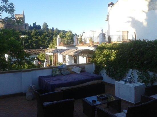 Casa Bombo: terrazza.
