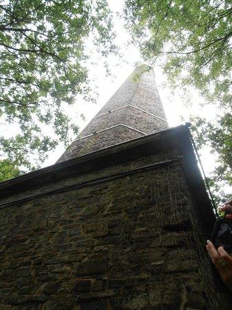 Stiperstones Nature Reserve: the big chimney!