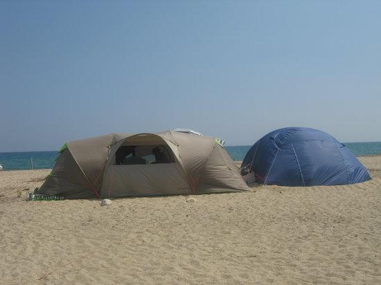 Camping Les Eucalyptus: Il paradiso