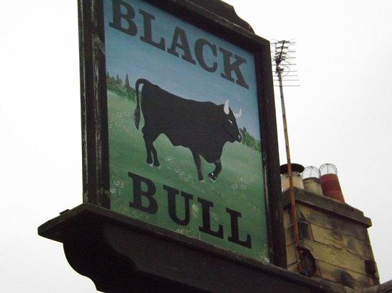 Black Bull Inn: Black Bull pub sign