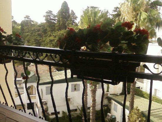 Hotel El-Djazair Ex Saint George: le balcon