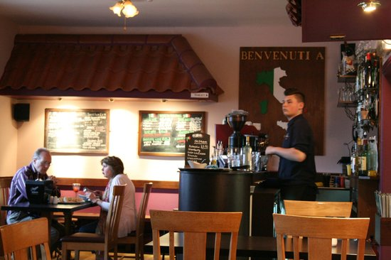 Inside Caffe Tirreno 24 June 2013