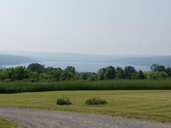 Cayuga Lake Front Inn: 3rd view from driveway.