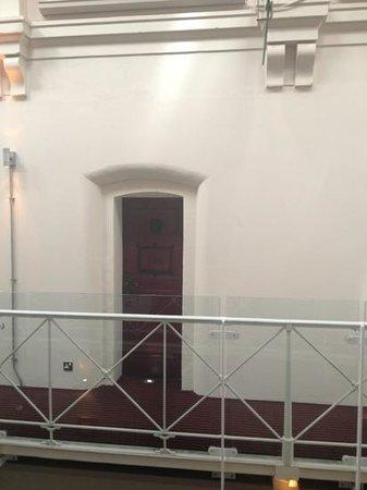 Malmaison Oxford Castle: Cell room door