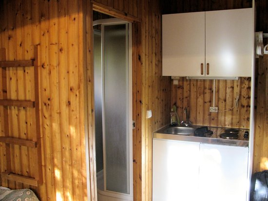Gesthus Selfoss: Kitchenette/Bathroom