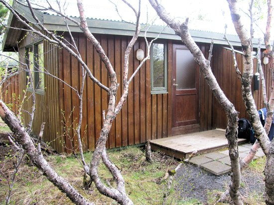 Gesthus Selfoss: Cabin From Outside